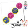 2015 Grace Pet new flying disc toy dog frisbee