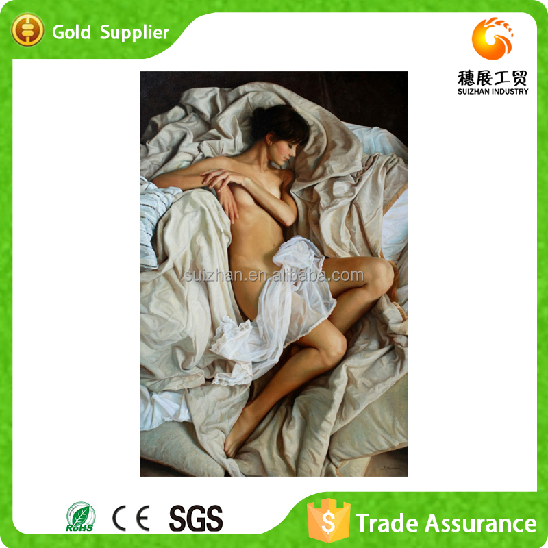 China Factory Art Painting Mosaic Diamond Painting Nude Chinese Girls