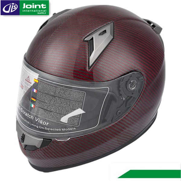 German Carbon Fibre Material ECE/DOT Motorcycle Full Face Helmet