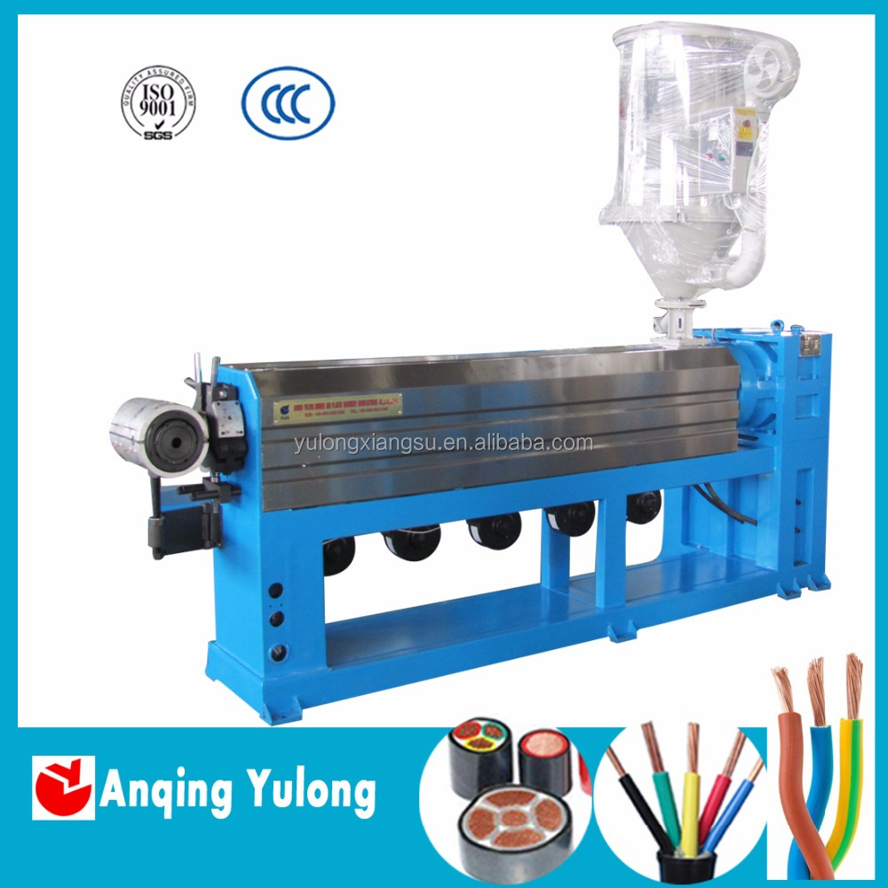 Copper wire extrusion machines/ Cable making machine/ Electrical wire cable pvc insulation production machine