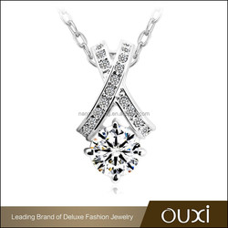 OUXI accept custom long chain popular fashion mother daughter necklace