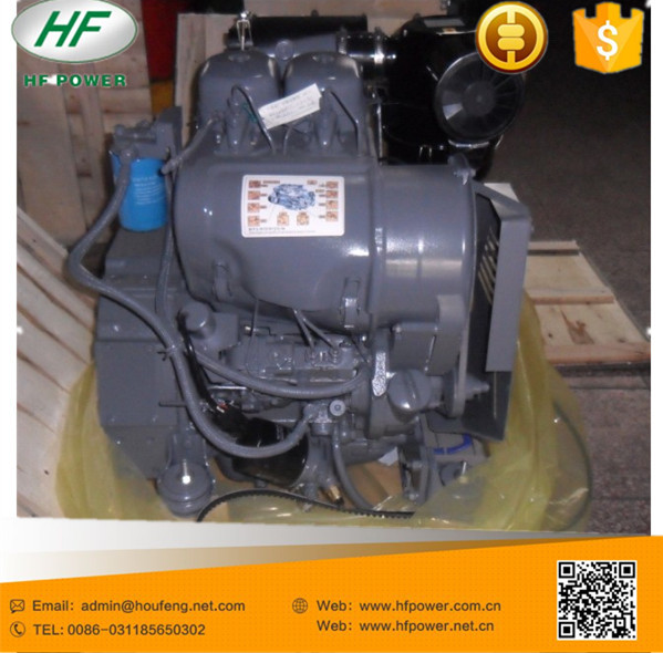 F2L912 twin cylinder small deutz diesel engine for walking tractor