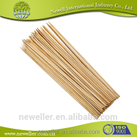 2014 Low price high temperature resistant bamboo disposable sticks wholesale round bamboo fruit cocktail sticks