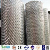 plastic coated thick diamond hole expanded metal mesh