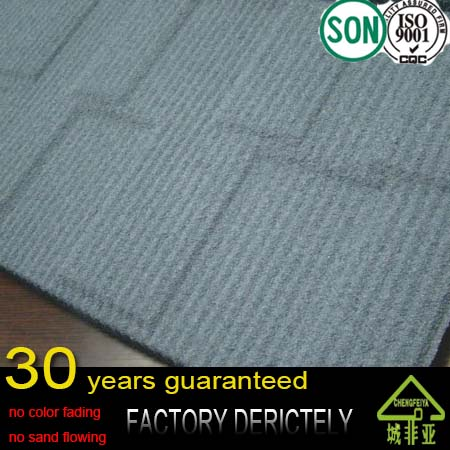 good quality factory selling Shingles solar colored metal roof tile