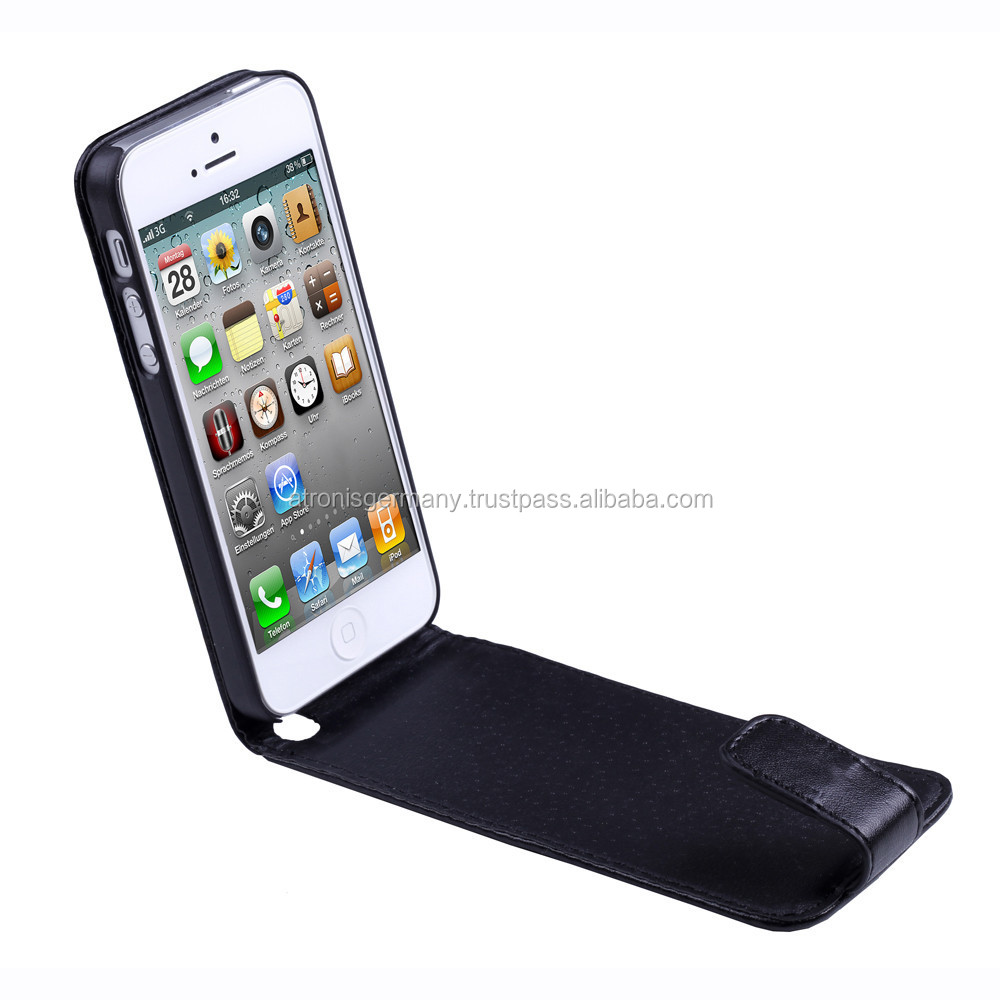 Litchi Texture Leather Case with Credit Card Slots made for iPhone 6