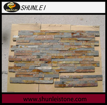 Rusty Slate Cement Ledge stone Wall Panel