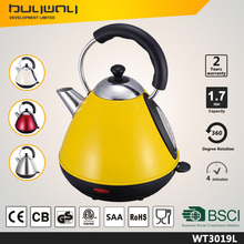 stainless steel electric kettle wattage 1.7L