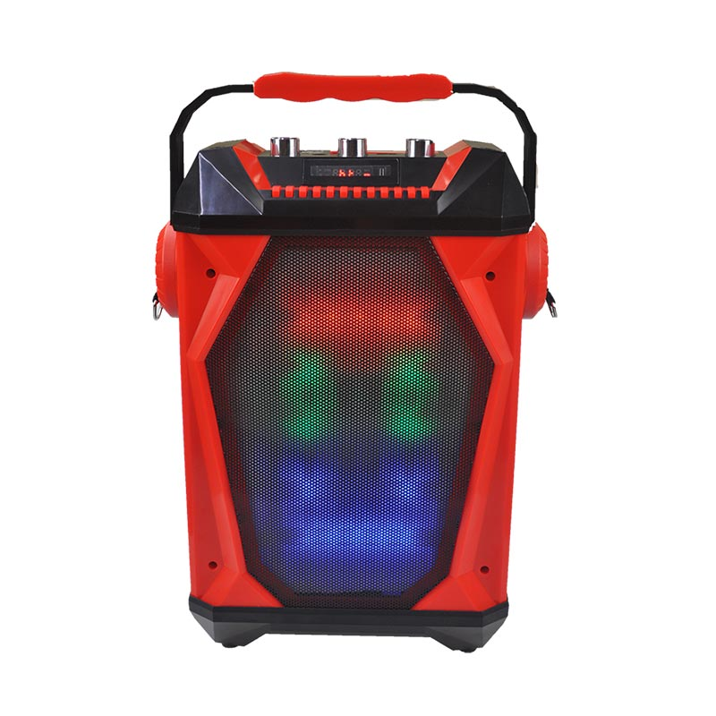 Karaoke Vibe Bluetooth Speaker System, Audio Wireless Entertainment System, Microphone Included