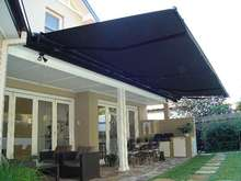 Porch Remote Control Aluminum Retractable Awning/Balcony Sunshade
