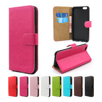 New model simple design leather wallet case for Huawei Nexus 6P with card slot