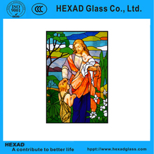 HEXAD customized plastic stained glass sheets for Home Decoration