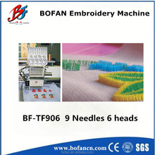 high precision 4 head flocking computerized embroidery machine for small shop