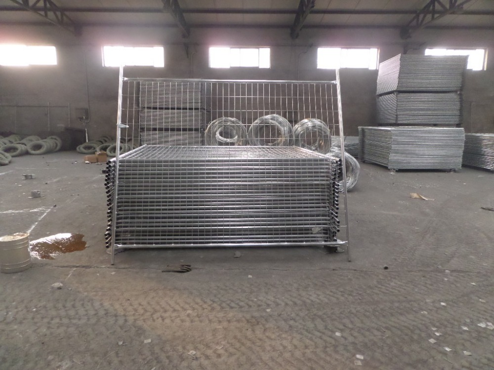 construction Australia galvanized temporary fence crowd control fence