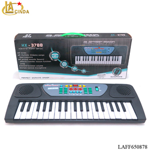 37keys electronic piano with charger,toys music keyboard for kids