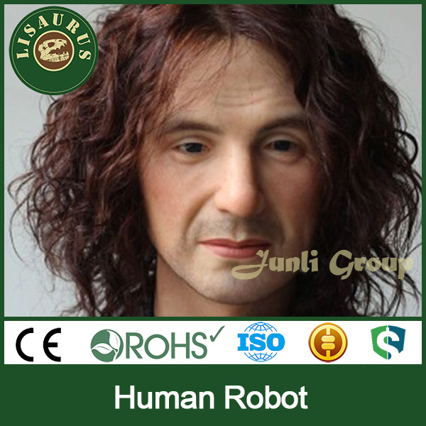Lisaurus-R374 famous celebrity animatronic human for sale