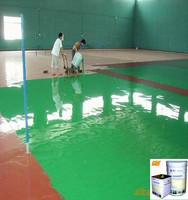 Basketball flooring paint with a favorable price