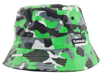 Top quality green bucket sun children kids hat