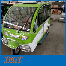 classic durable beautiful and comfortable passenger tuk tuk with petrol engine