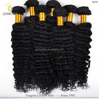 First Selling Good Feedback High Quality Unprocessed No Shedding Dyeable milky way deep wave human hair weave