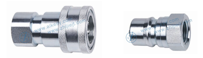 ISO 7241-1B Close type hydraulic quick disconnect coupling