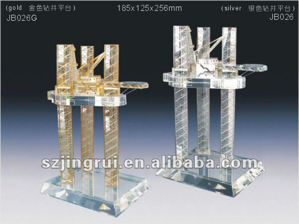 drill oil drilling rig model gift