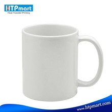 Wholesale Grade AAA blank sublimation white mug with orca coating