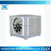 Inverter water evap air cooler fan with 100% new PP body