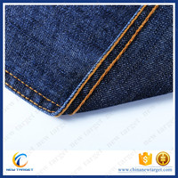 Cheap price satin jeans denim dresses fabric for ladies
