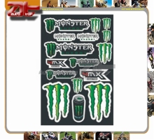 High peformance Stickers Motocross Motorcycle Car ATV Racing Bike Helmet Decal