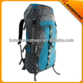 camping sports hiking backpack grey and green