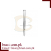 braat stainless steel Francis Fixation Forceps 3x4T, 11cm