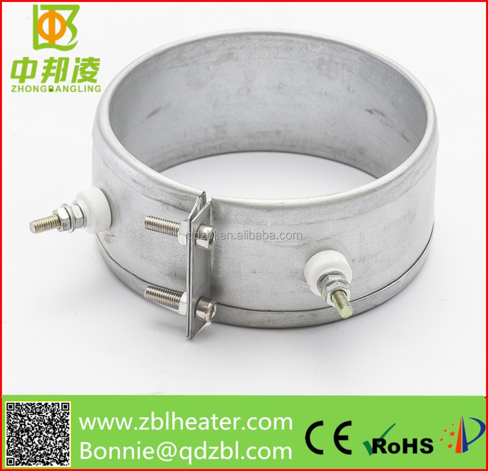 Stainless steel heater parts/plastic machinery Mica heating elements with wire connection