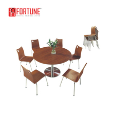 More person restaurant round table and chairs set