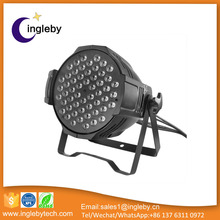 china factory price led par ip65 zoom 54x3w rgbw high power led dj equipment