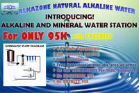 ALKALINE AND MINERAL WATER STATION