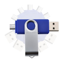 Popular Android Mobile Phone OTG USB Flash Drive for Promotion Gifts