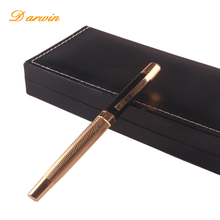 Business Advertising Luxury Metal Rollerball Ink Pen Set With Box High-end Personalized Pen Gift
