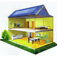 solar system 2kw grid off solar energy system for home use 10 years warranty