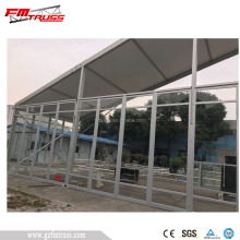 Outdoor wedding party tent