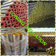 Heat Insulation Glass Wool Pipe Section/Glass Wool Pipe Cover