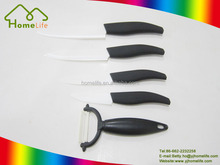 High Quality Type Option Kitchen Ceramic Knife, Black Handle