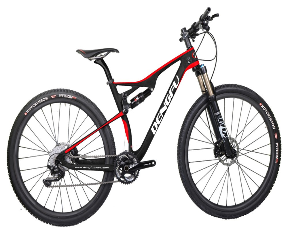 New design 27.5er plus full suspension carbon MTB frame mountain bike carbon frame 27.5er boost