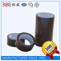 BOPP Film and Pressure Sensitive Type, Brown Colored Package Tape Roll
