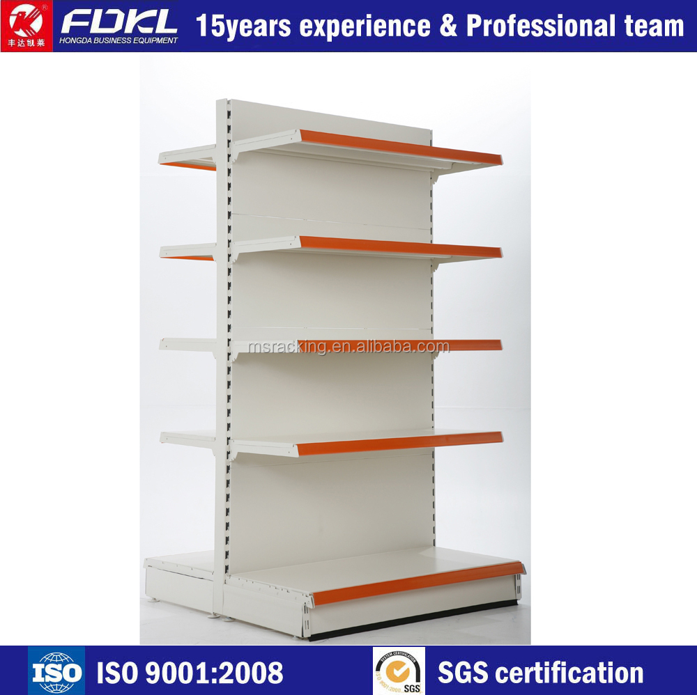 Good quality new style priced supermarket shelving fast delivery