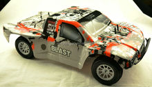 1/10 rc car,elctric brushed car,brushed short course truck