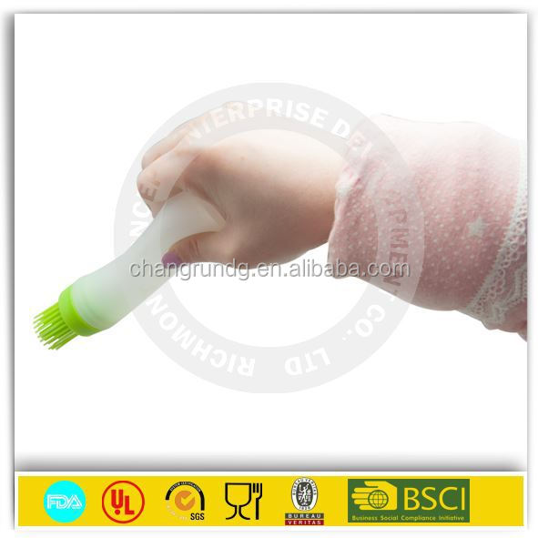Bsci audited factories meat baster with brush