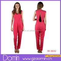 New Arrival Sexy V-neck One Piece Jumpsuit Plus Size Adult Onesies