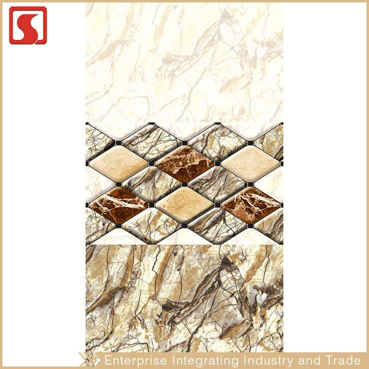 Spain Solid Color Kitchen Ceramic Wall Tile 250X500 MM