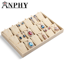 ANPHY A205-3 High Quality PVC Pierced Plastic Tragus Earring Stud/Pendant Jewelry Display Tray